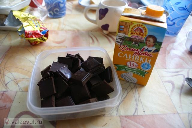 шоколад трюфели рецепт  — 065. Трюфели из шоколада (рецепт)