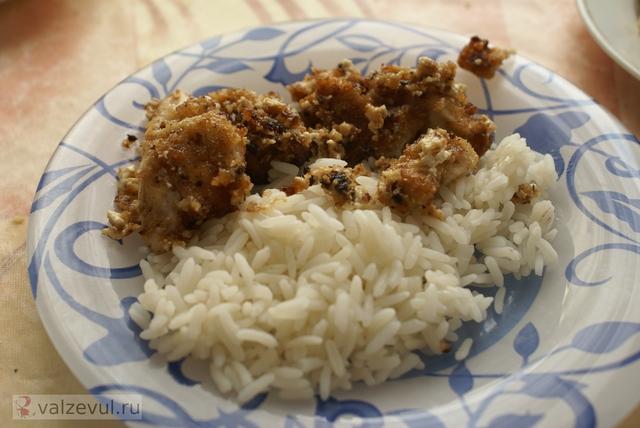 сливки рецепт куриное филе  — 068. Куриное филе, панированная в сухарях (рецепт)