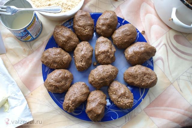 рецепт пирожное картошка  — 077. Пирожное «Картошка» (рецепт)