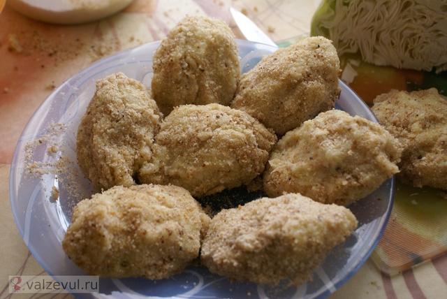 рецепт пирожки лето котлеты капуста витамины  — 084. Капустные котлеты (рецепт)