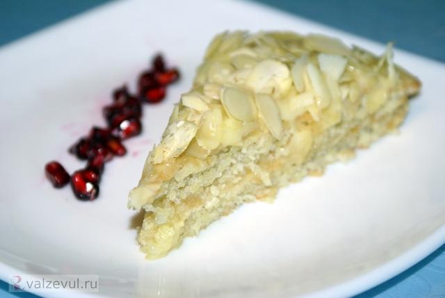 шведский рецепт шведская кухня торт рецепт популярные рецепты миндальный торт известные рецепты десерт ikea almondy  — 082. Миндальный торт «Almondy» (шведский рецепт «как в IKEA»)