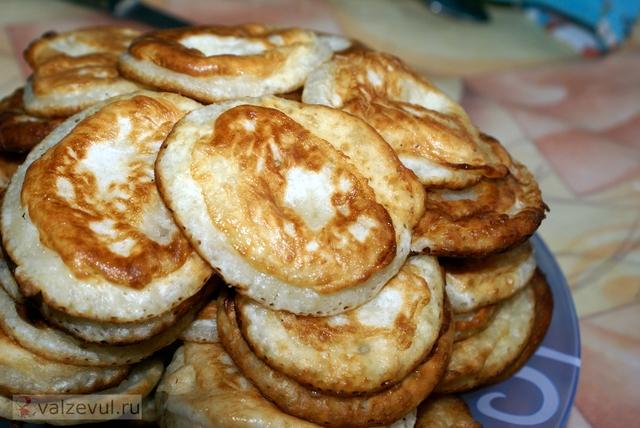 Рецепт оладьи — 093 домашние оладьи