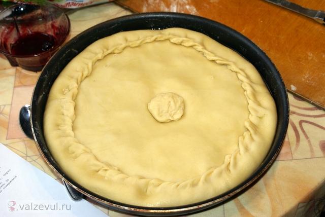 рецепт пирог национальная кухня балиш  — 098. Зур балиш (татарский рецепт)