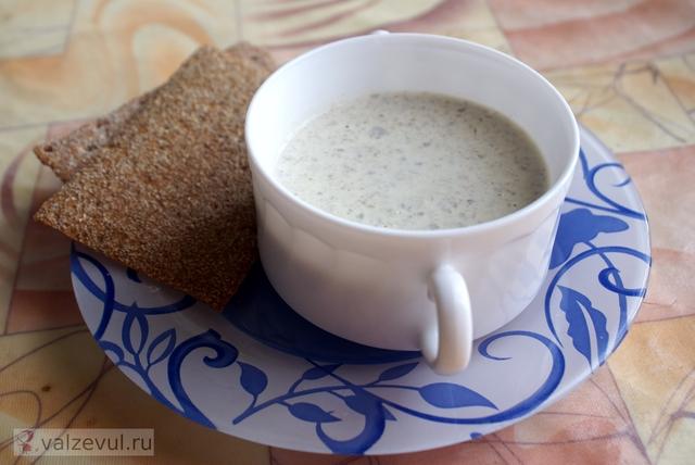 шампиньоны суп пюре рецепт грибы  — 097. Грибной суп пюре (рецепт)