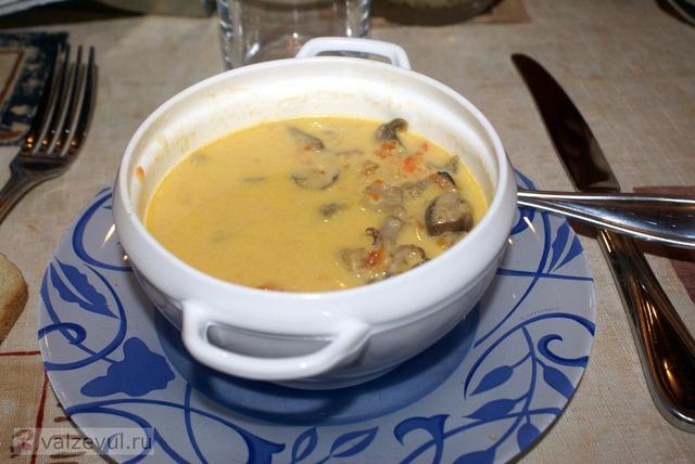тайланд суп пюре рецепт национальная кухня креветки  — 117. Острый крем суп «Желтое море» (тайский рецепт)