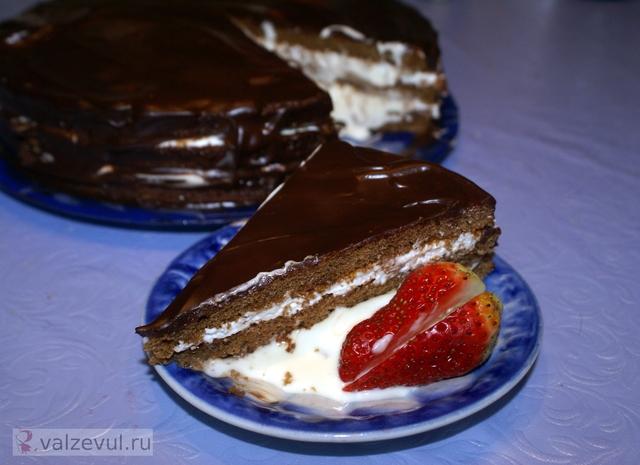 франция торт рецепт национальная кухня маскарпоне  — 121. Торт «Три крема» (рецепт)