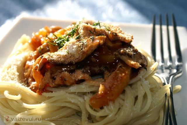 чили спагетти с соусом спагетти с беконом соус рецепт с фотографиями рецепт паста с беконом итальянская кухня  — 133. Паста с беконом и чили (итальянский рецепт)