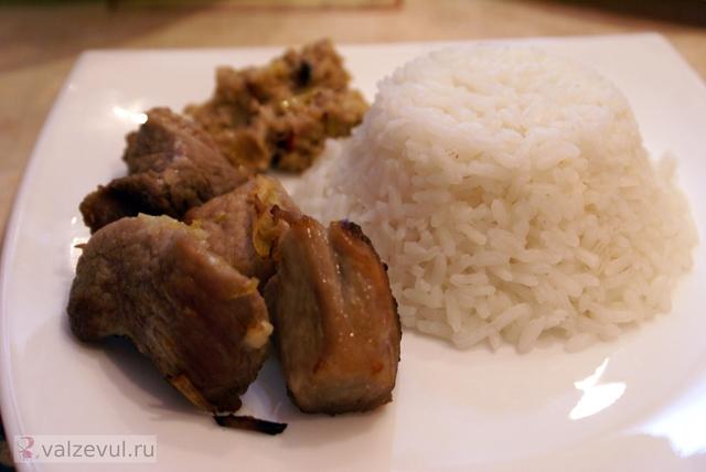 тайская кухня тайланд свинина сатай рыбный соус рецепт с фотографиями рецепт острые блюда национальная кухня лимонное сорго лимонная трава блюда тайской кухни  — 134. Сатай из свинины (тайский рецепт)