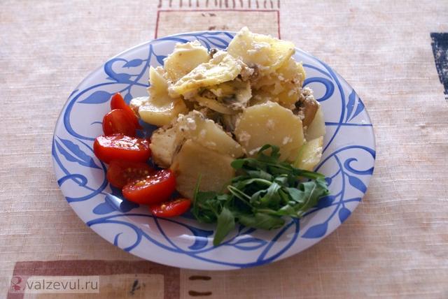 французская кухня франция рецепт гратен с шампиньонами гратен  — 142. Гратен с шампиньонами (французский рецепт)