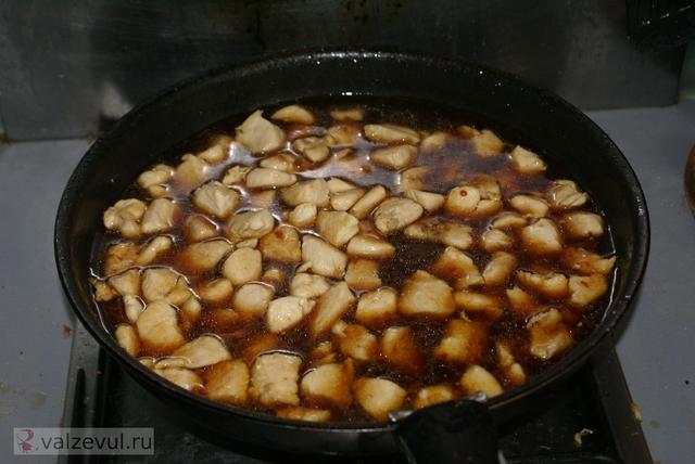 соус рецепт соуса рецепт курицы рецепт национальная кухня курица китайский рецепт китайская кухня  — 139. Курица в кисло сладком соусе (китайский рецепт)