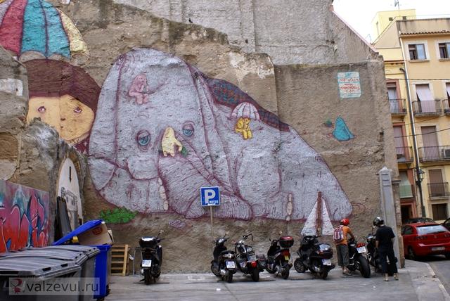 чуррос таррагона римский амфитеатр реус испания достопримечательности  — 155. Таррагона — город контрастов (Испания #4)