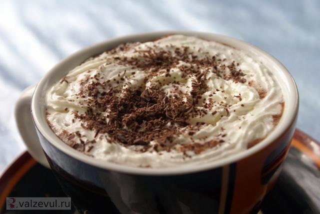 романтический завтрак рецепт горячий шоколад  — 153. Горячий шоколад (рецепт)