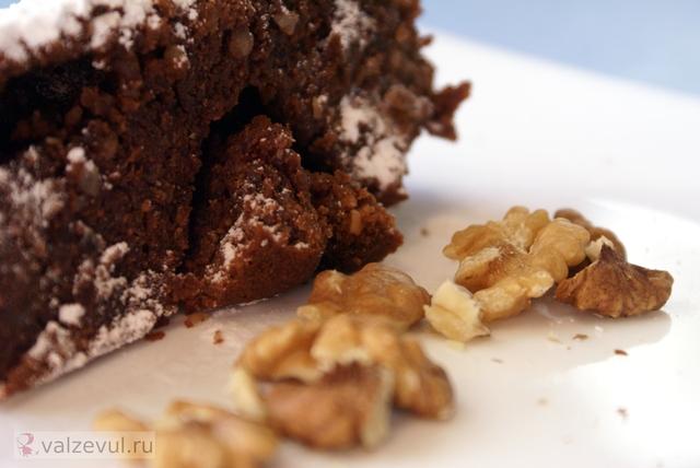 шоколад рецепт маффины брауни американская кухня  — 164. Шоколадный брауни (американский рецепт)
